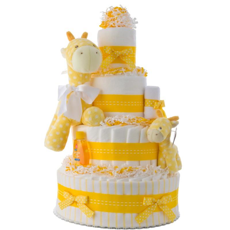 My Lil Giraffe Diaper Cake for Girls