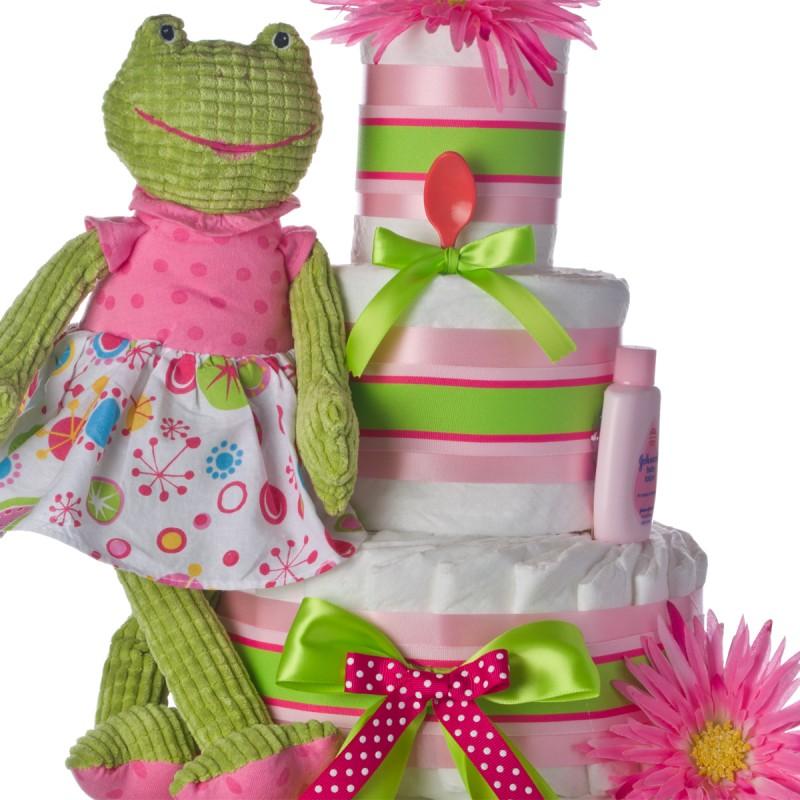 pink frog plush toy