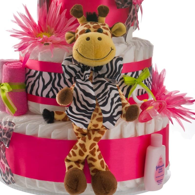 Safari Giraffe Plush Toy