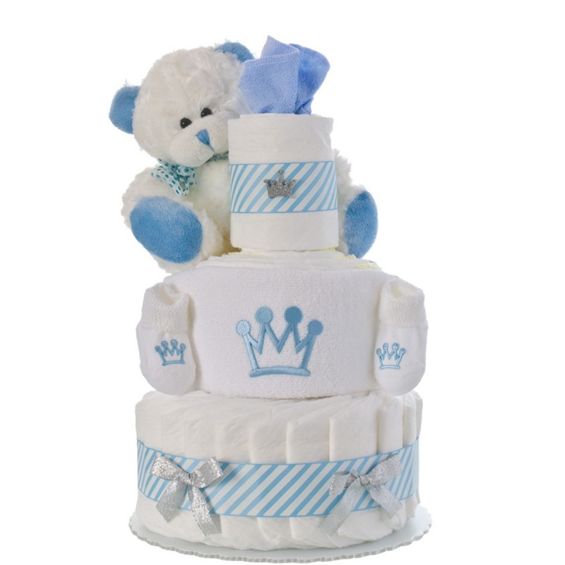Our Lil' Prince 3 Tier Diaper Cake