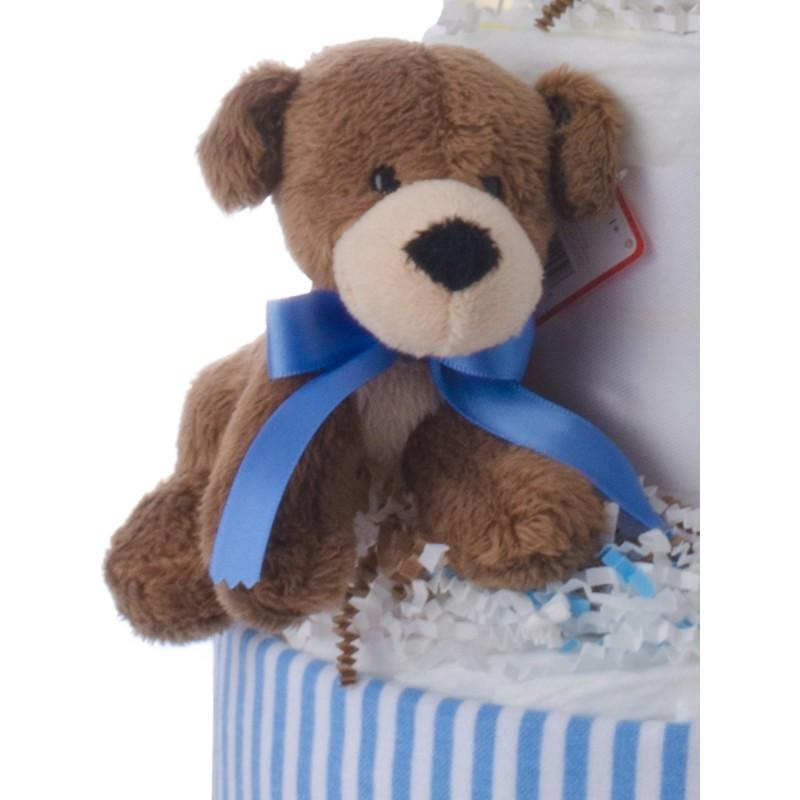 Baby Gund Plush Blue Bear