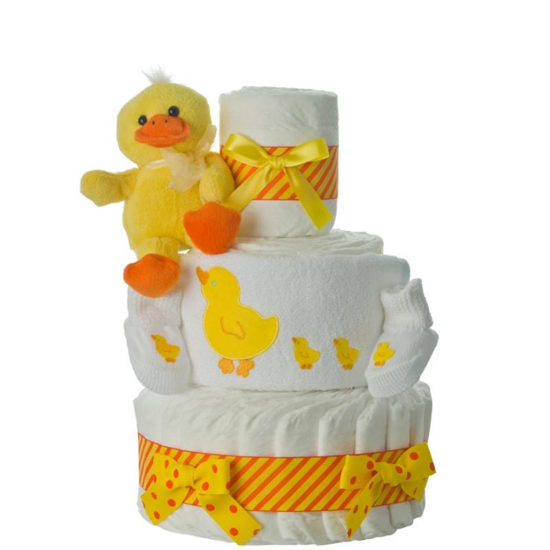 Quack Quack Diaper Cake