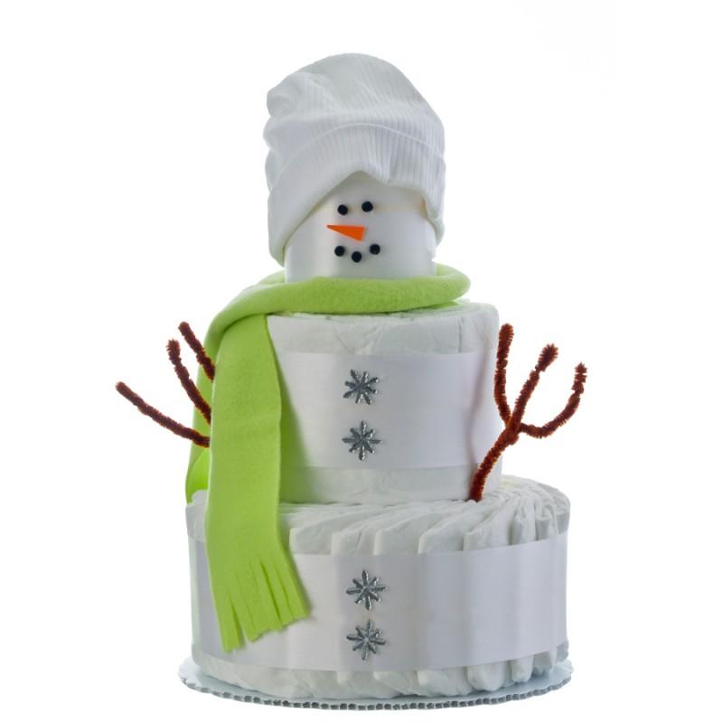 Snowbaby 3 Tier Diaper Cake