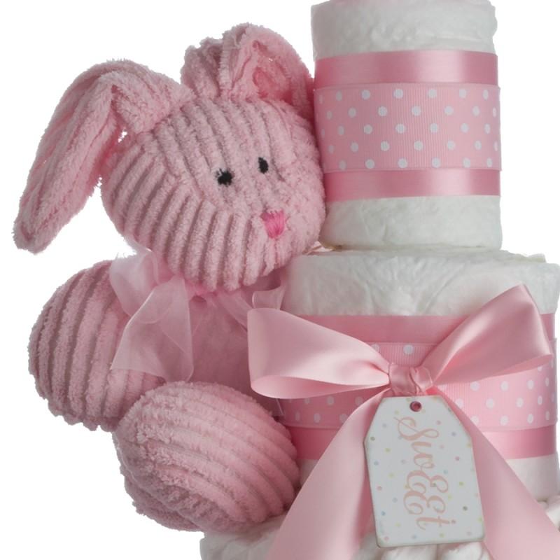 Stephen Baby Pink Bunny Plush