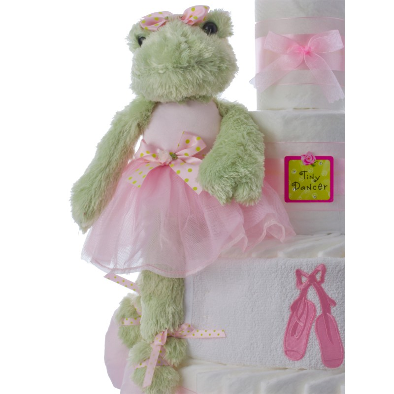 Bearington Bear Plush Frog Dancer