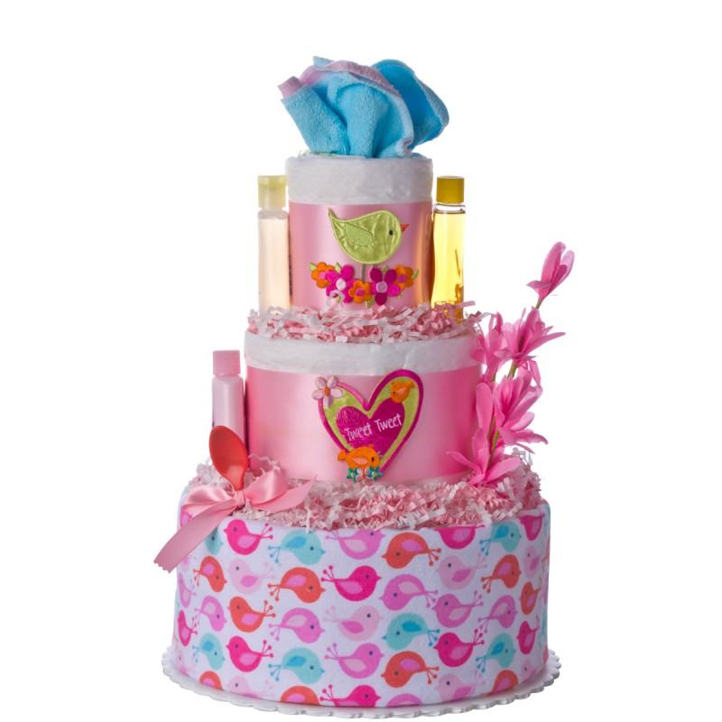 Lil Baby Cakes Tweet Tweet Diaper Cake