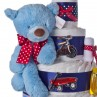 Gund Blue Plush Bear