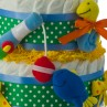 My First Tackle Box Diaper Cake Bottom