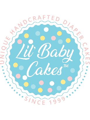 3 Tier Lil' Captivating Diaper Cake