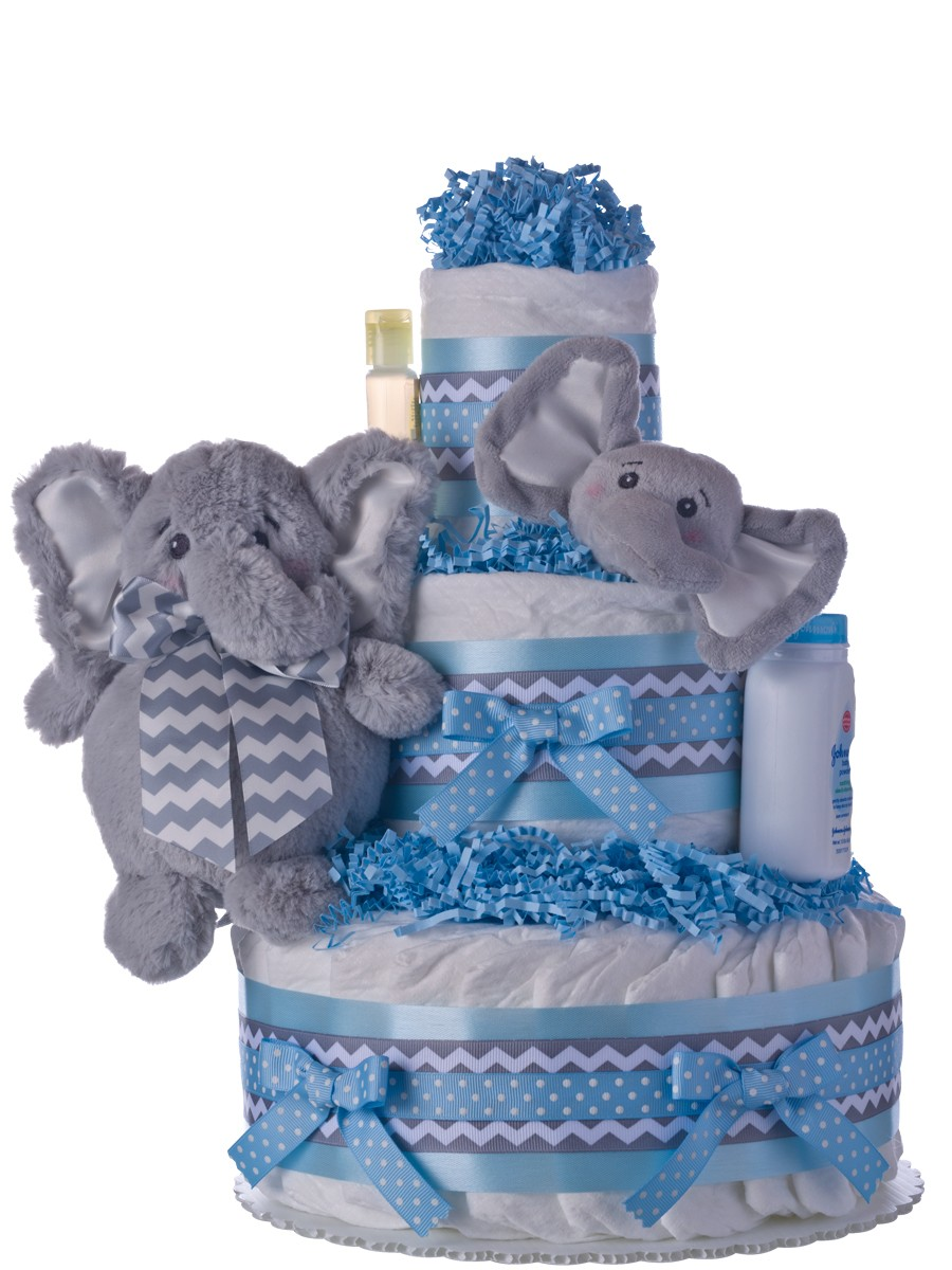 Elephant Baby Shower Cake Pictures