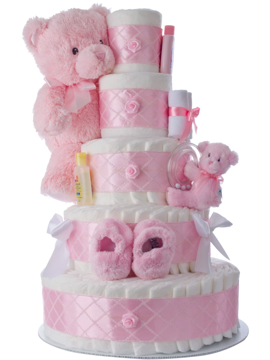 How To Make A Diaper Cake Baby Shower