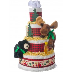 My Forest Friends Diaper Cake