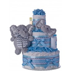 My Elephant Friend Lil Baby Diaper Cake