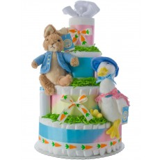 Peter Rabbit Baby Diaper Cake
