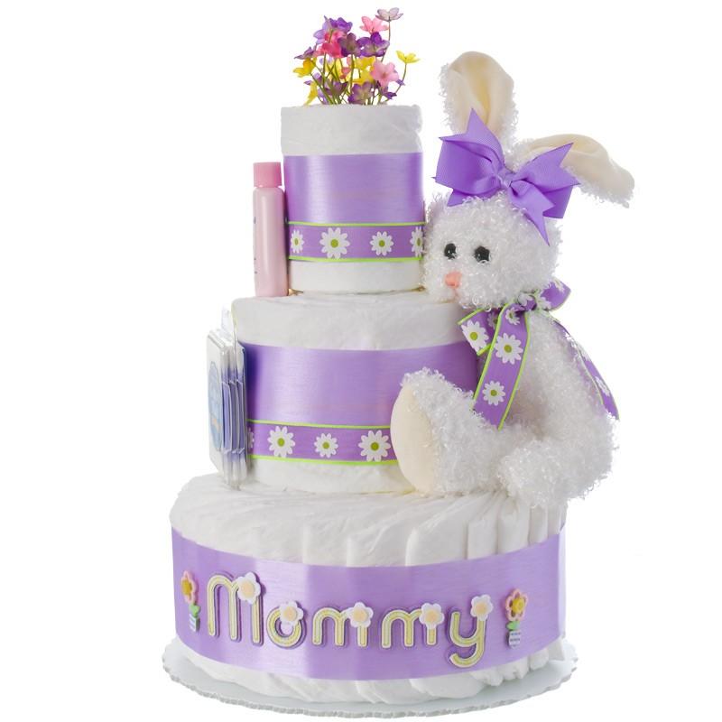 New Mommy 3 Tier Diaper Cake