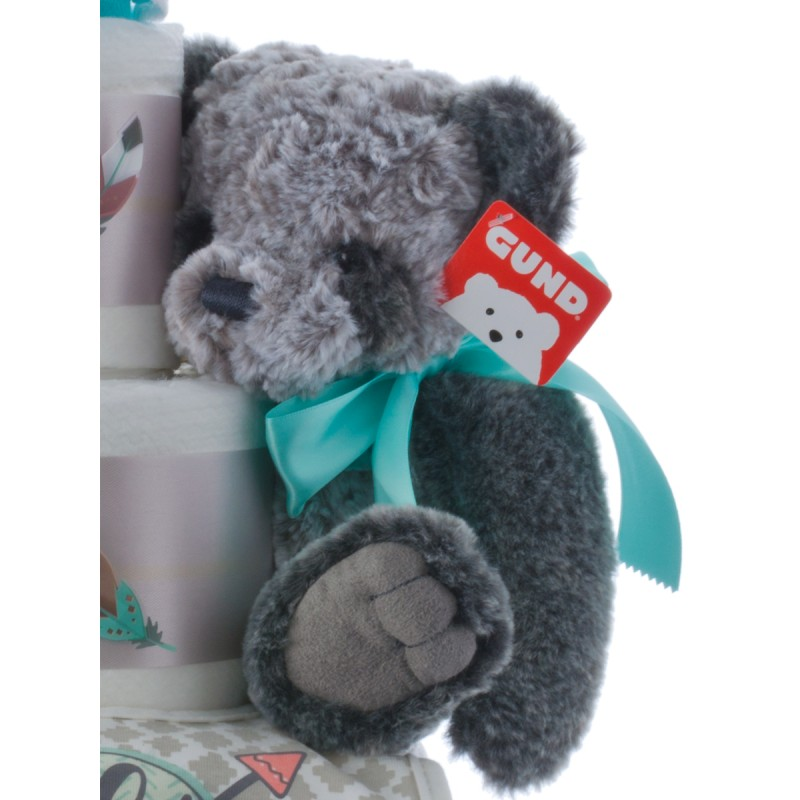 Baby Gund Gray Plush Toy