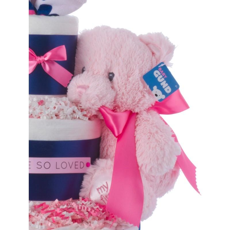 Baby Gund Pink Plush Bear