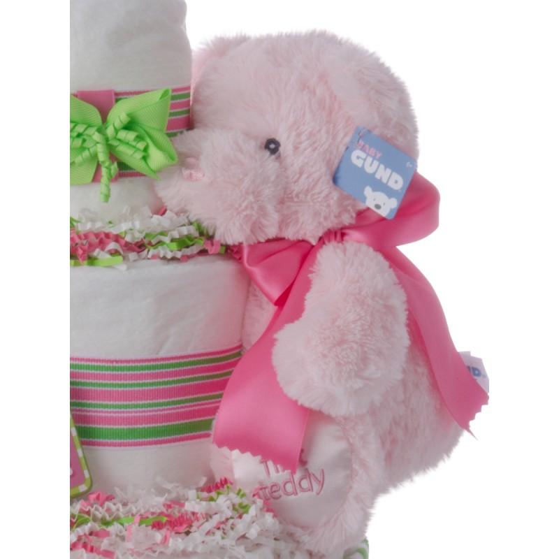 Baby Gund Plush Pink Bear