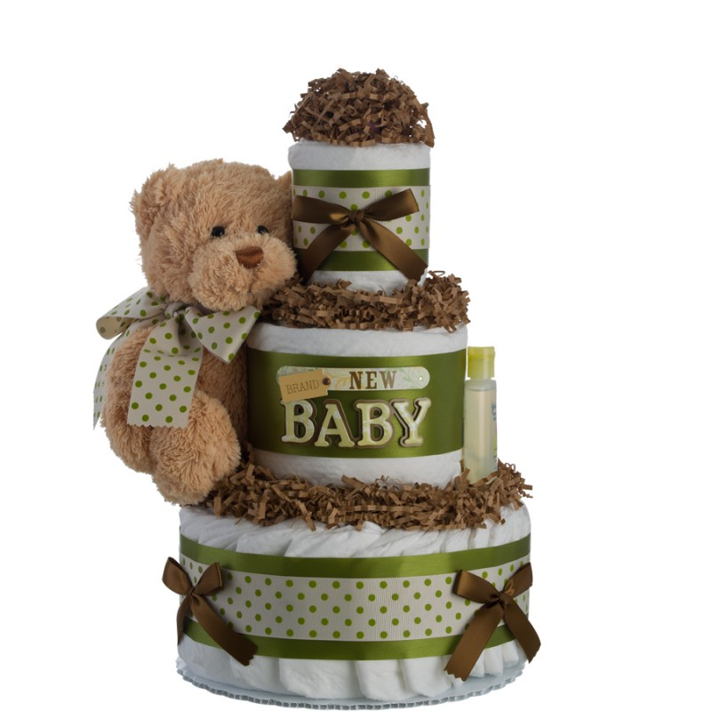 Brand New Baby 3 Tier Diaper Cake