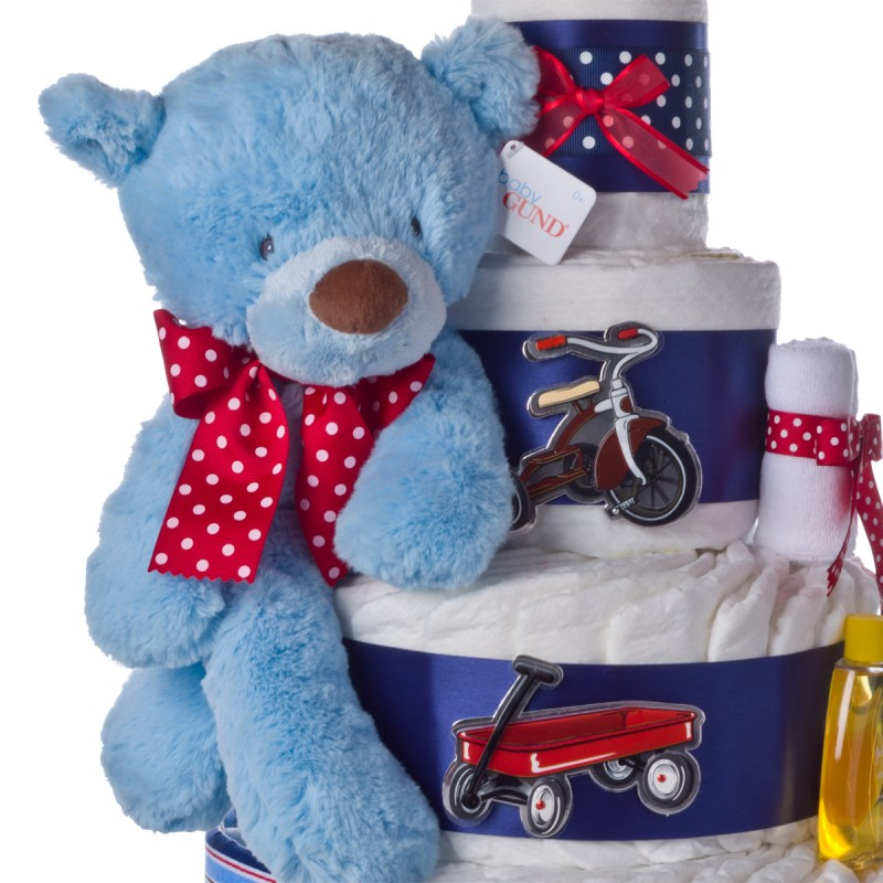 Gund Blue Plush Bear
