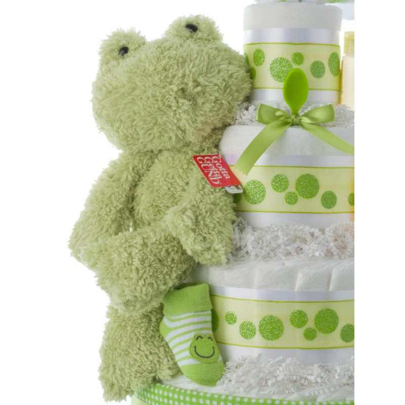 Gund Fuzzy Frog Plush Toy