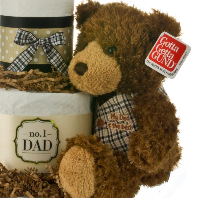 Gund brown plush teddy bear