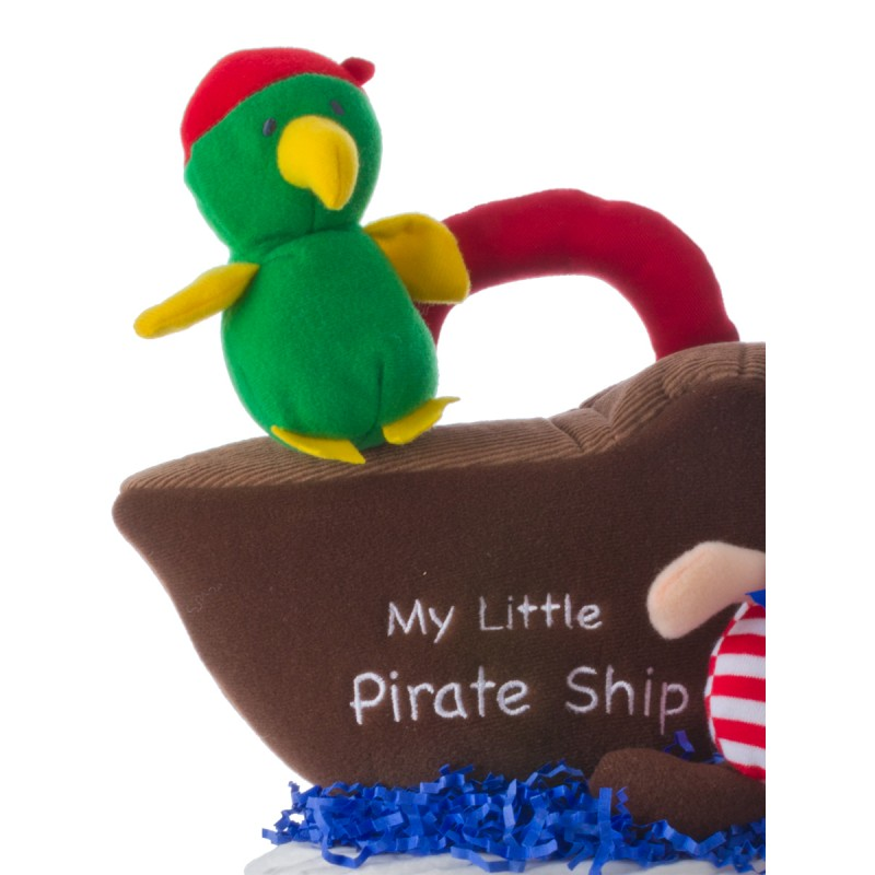 Gund Parrot Plush Baby Toy