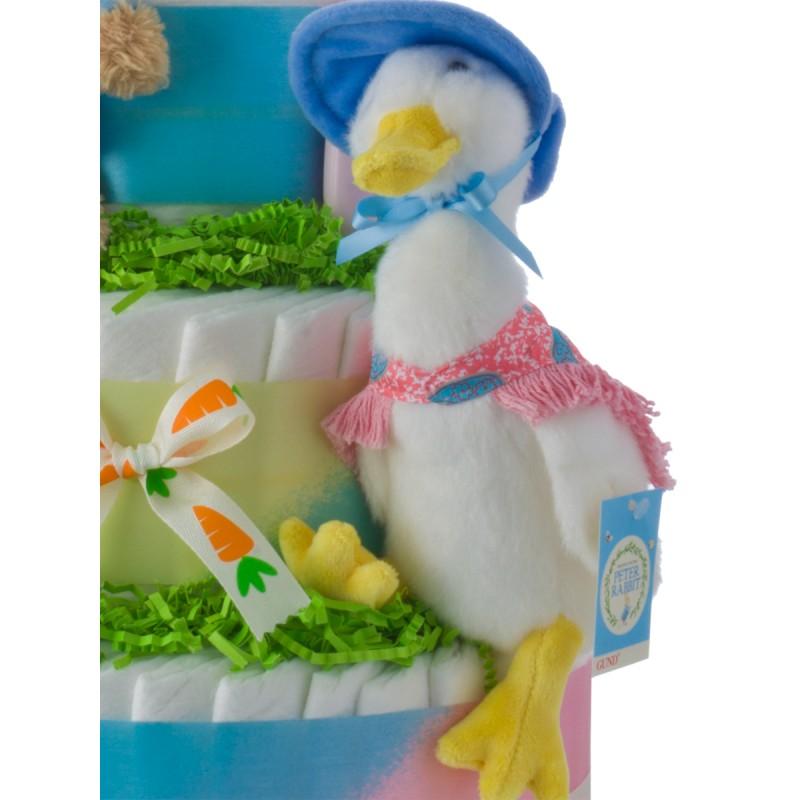 Gund Peter Rabbit Duck Plush Toy