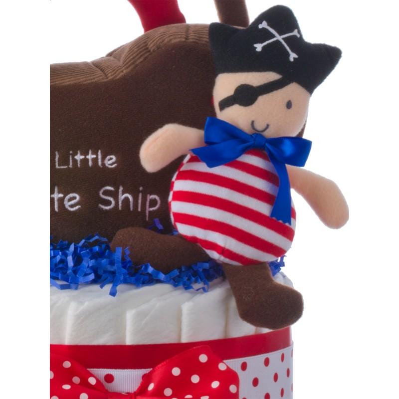 Gund Pirate Plush Baby Toy