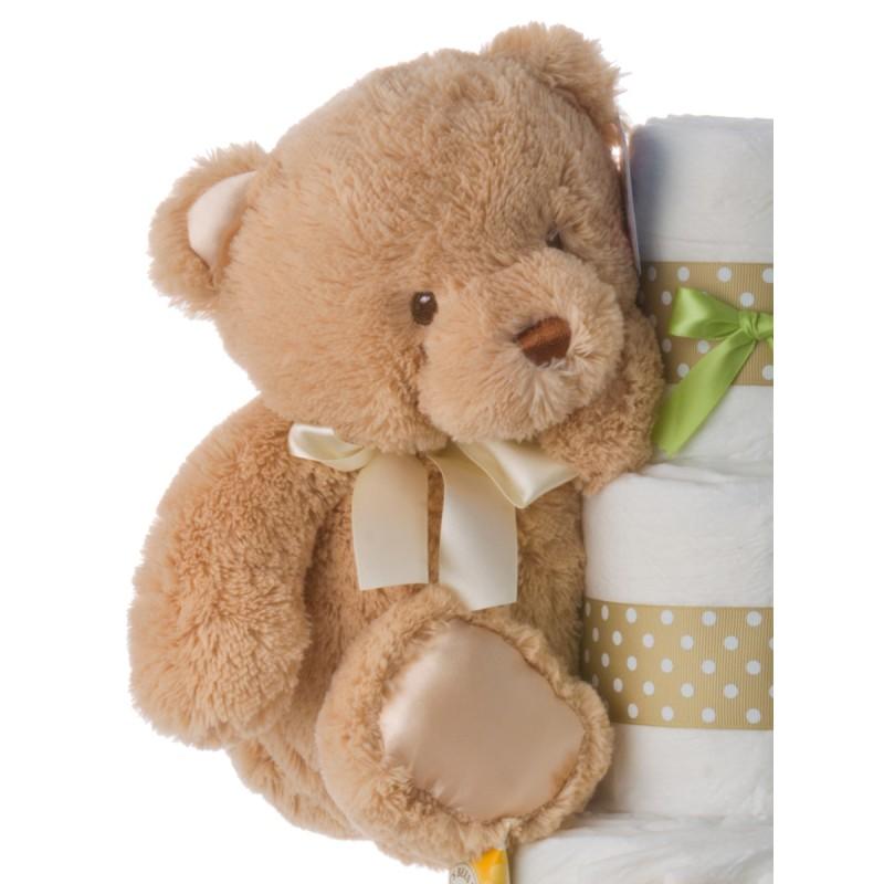 Gund Tan Bear Plush Toy