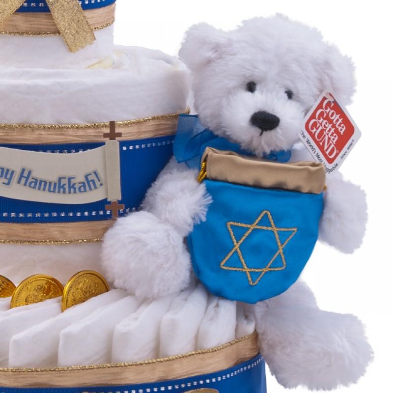 Hanukkah Plush Bear