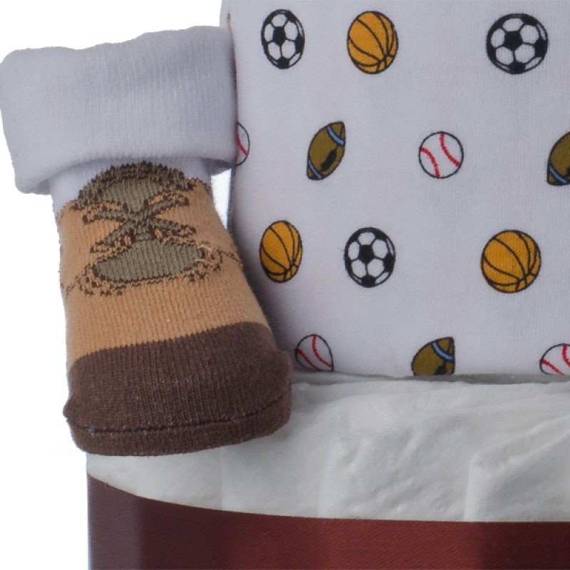 Sports Themed Bootie