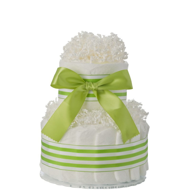 Mini Tickled Green Diaper Cake
