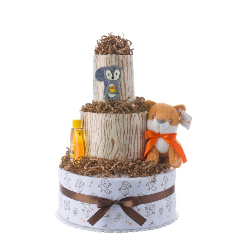 My Lil' Fox Boy Diaper Cake