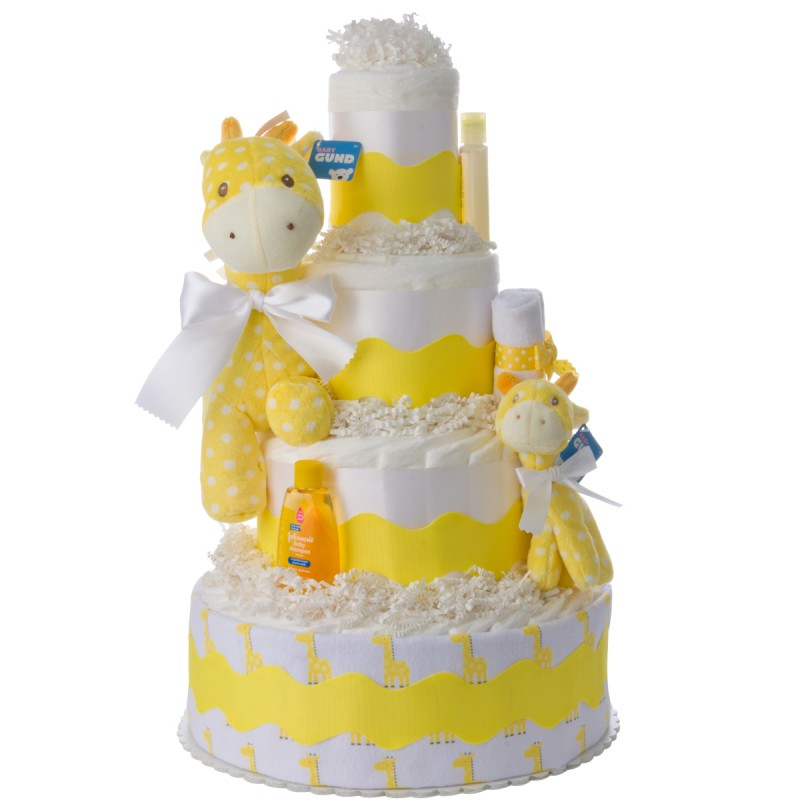 My Lil Giraffe Diaper Cake for Girls