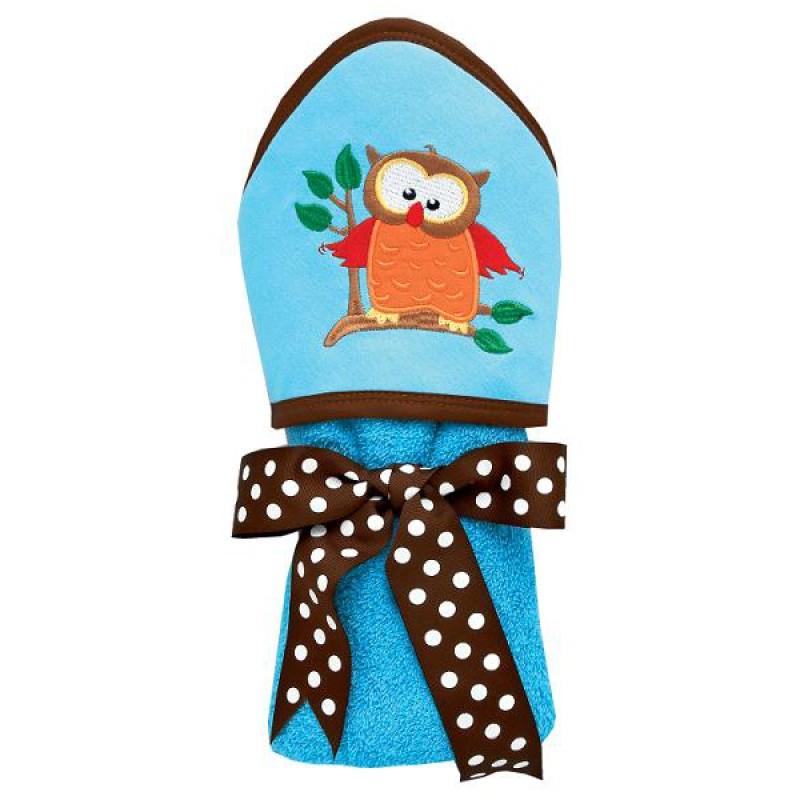 Owl Towel Baby Gift