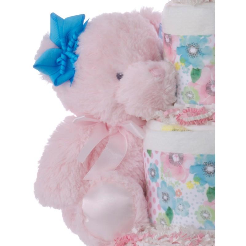 Pink Baby Bear Plush Toy