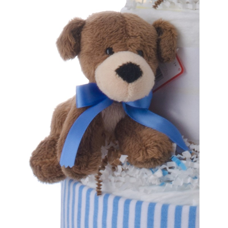 Baby Gund Plush Blue Bear