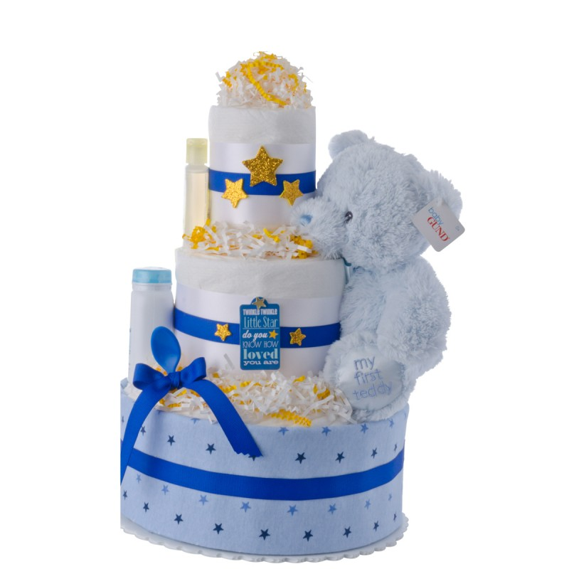 Twinkle Twinkle Baby Diaper Cake for Boys