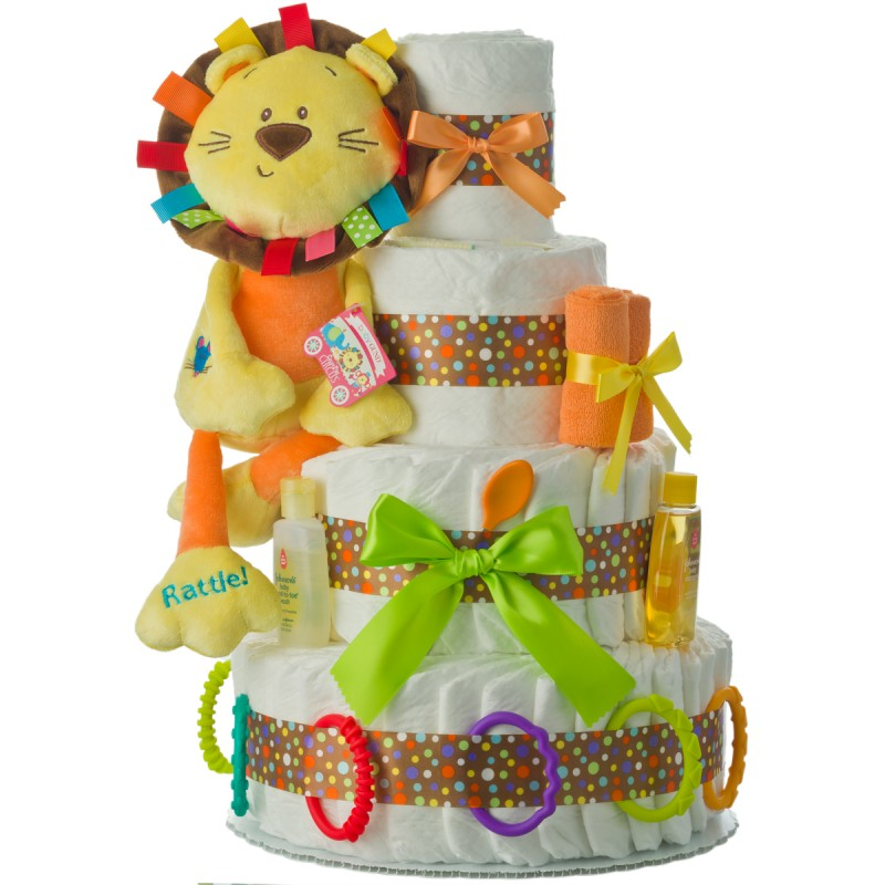 Welcome to the Circus Diaper Cake