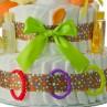 Circus Base Diaper Cake